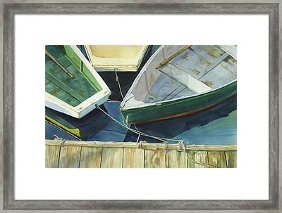 Rowboat Trinity II Framed Print