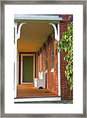 Rowe House Framed Print