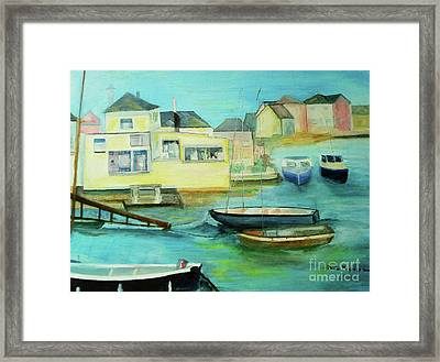 Rowhedge Framed Print