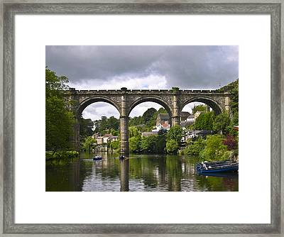 Rowing Framed Print