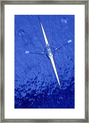 Rowing Overview, Jason Puddifoot Framed Print by Jason Puddifoot