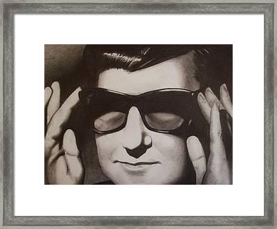 Roy Framed Print by Amber Stanford