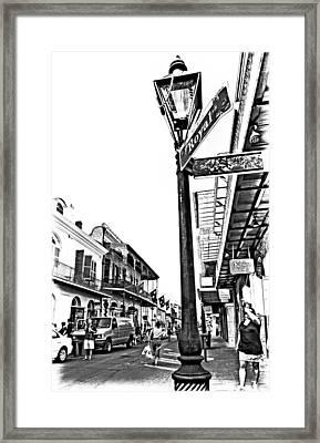 Royal Afternoon Monochrome Framed Print by Steve Harrington