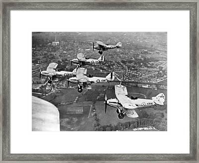 Royal Air Force Formation Framed Print