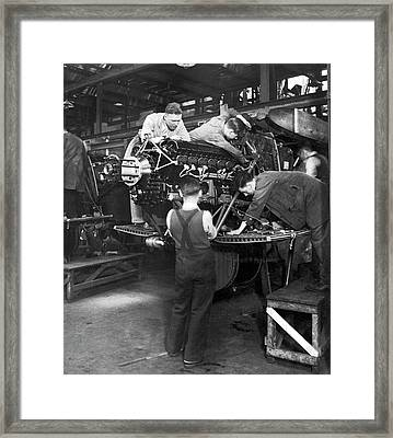 Royal Air Force Production Framed Print by Underwood Archives