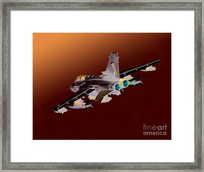 Royal Air Force Tornado Gr4  Framed Print by Paul Fearn