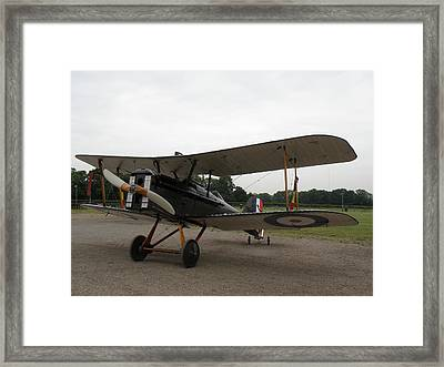 Royal Aircraft Factory Se5a Framed Print by Ted Denyer