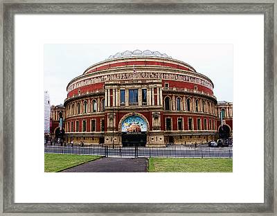 Royal Albert Hall London Framed Print by Nicky Jameson