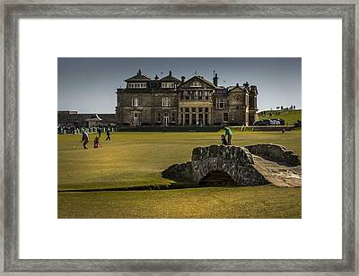Wall Pictures Royal And Ancient Golf Club Framed Print by Alex Saunders