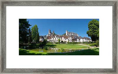 Royal Apartments And Collegiate Church Framed Print by Panoramic Images