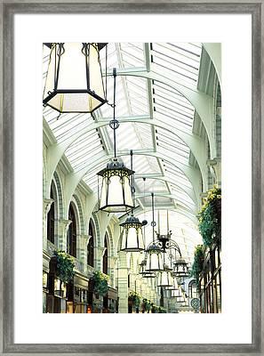 Royal Arcade Framed Print by Tom Gowanlock