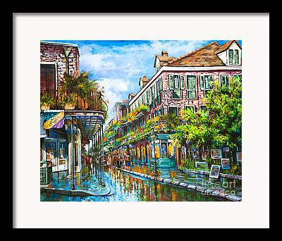 Royal Street Framed Prints