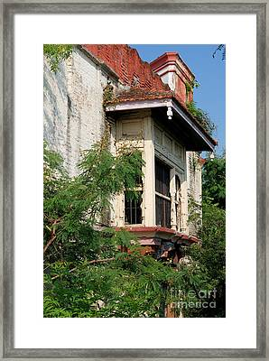 Royal Balcony Framed Print