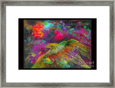 Royal Bird Framed Print