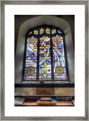 Royal British Legion Window Framed Print