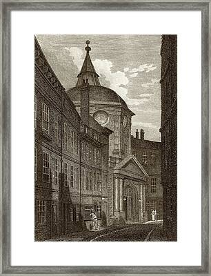 Royal College Of Physicians Framed Print by National Library Of Medicine
