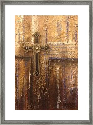 Royal Cross Framed Print