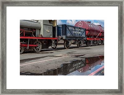 Royal Dockyard Reflected Framed Print