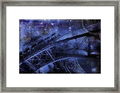 Royal Eiffel Tower Framed Print