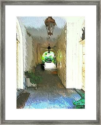 Royal Entrance Framed Print