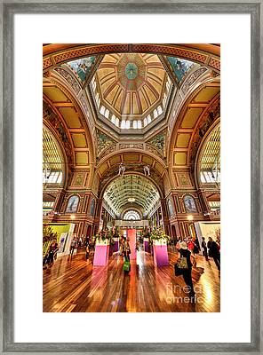 Royal Exhibition Building II Framed Print