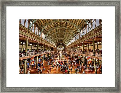 Royal Exhibition Building IIi Framed Print