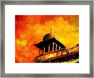 Royal Fort 01 Framed Print by Catf