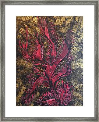 Royal Gold Framed Print by Nico Bielow