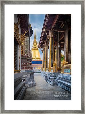 Royal Grand Palace Columns Framed Print