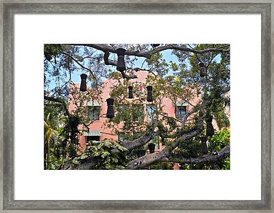 Royal Hawaiian Hotel Rear View Framed Print by Michele Myers