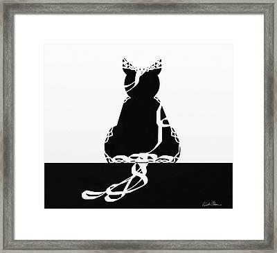 Royal Kat Framed Print