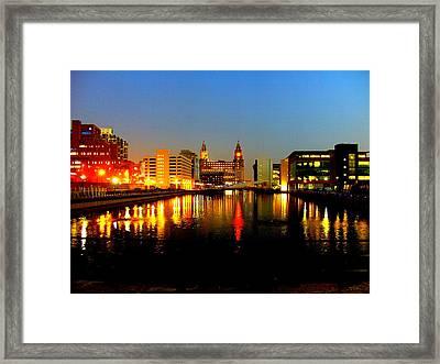 Royal Liver Building Liverpool  Framed Print