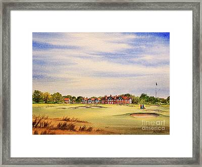 Royal Lytham And St Annes Golf Course Framed Print by Bill Holkham