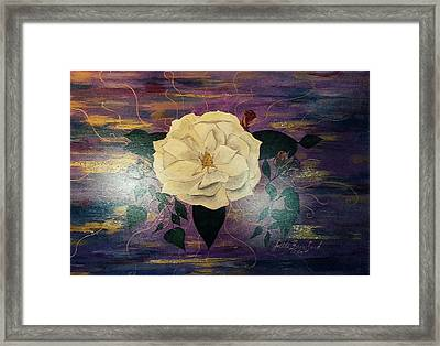 Royal Majestic Magnolia Framed Print