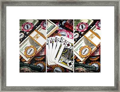 Royal Men Panels Framed Print by John Rizzuto
