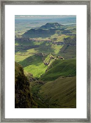 Royal Natal National Park Framed Print by Bob Gibbons
