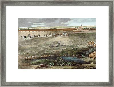 Royal Palace Of Aranjuez Framed Print by Prisma Archivo