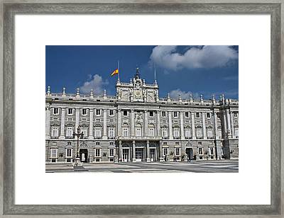 Framed Print featuring the photograph Royal Palace Of Madrid by Farol Tomson