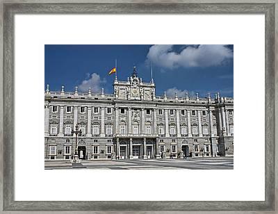 Royal Palace Of Madrid Framed Print by Farol Tomson
