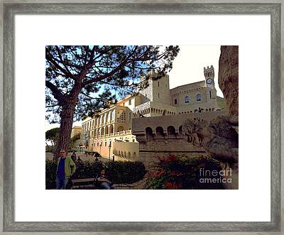 Royal Palace Of Monaco Framed Print by Raphael OLeary