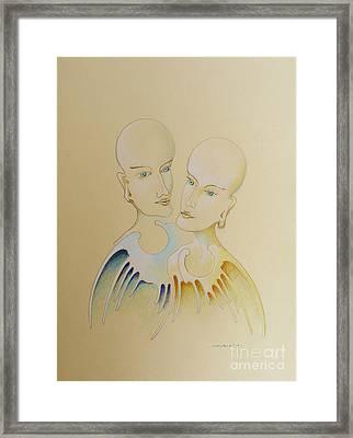 Royal Partners Framed Print