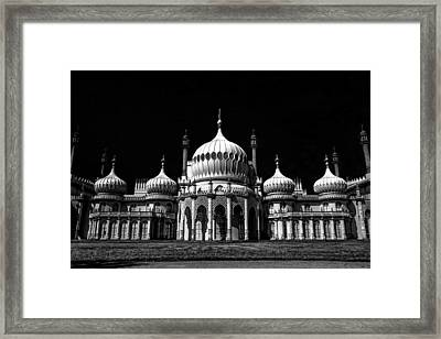 Royal Pavilion - Brighton Framed Print by Lubos Kavka