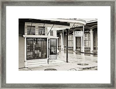 Royal Pharmacy Framed Print by Scott Pellegrin