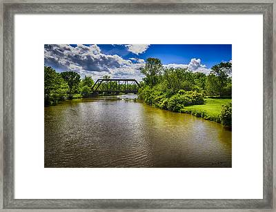 Framed Print featuring the photograph Royal River by Mark Myhaver