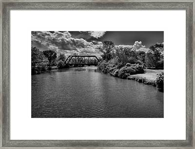 Royal River No.2 Framed Print by Mark Myhaver