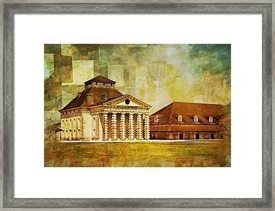 Royal Saltworks At Arc-et-senans Framed Print by Catf