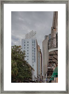 Royal Street New Orleans Framed Print by Kay Pickens