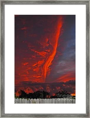Royal Sunset Framed Print