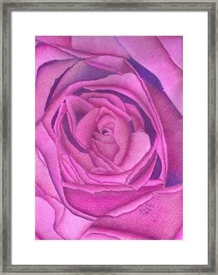 Royal Velvet Framed Print by Dusty Reed