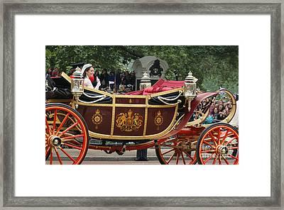 Royal Wedding  Framed Print by Mariusz Czajkowski